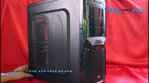 Обзор <b>AeroCool V3X</b> Advance Black Edition - YouTube