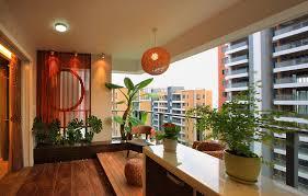 balcony greening and lighting balcony lighting