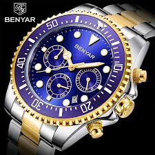 BENYAR Watches for Men - Luxury Business ... - Amazon.com
