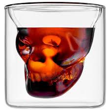 <b>Термобокал</b> из боросиликатного стекла <b>Skull 80</b> мл прозрачный ...
