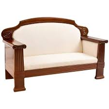art deco sofa with french polished mahogany frame circa 1920 art deco mahogany framed office chair