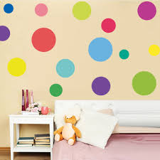 Mix Size <b>Colorful Polka Dot Wall</b> Sticker Kids Room Nursery ...