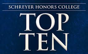 Top Ten Tips   Schreyer Honors College  SHC  at Penn State