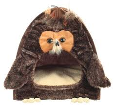 <b>Домик</b> для собак и <b>кошек GiGwi</b> Сова 40х40х45 см — купить по ...