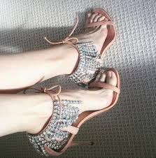Summer <b>Rome</b> Style <b>Lace Up Women</b> Pumps Studded Crystal High ...