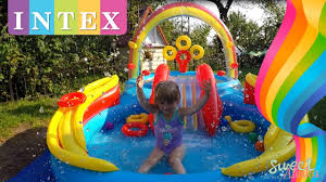<b>Intex</b> Rainbow Ring Play <b>Center</b> Pool Toys & Games Детский ...