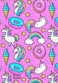 Unicorn Notebook Cute <b>Kawaii Notebook</b> with Unicorns & Rainbows ...