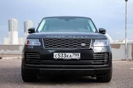Главный по роскоши: тест-драйв <b>Range Rover</b> LWB ...