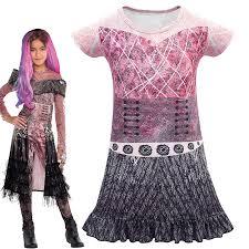 Movie Mal Cosplay Costumes <b>Kids Halloween</b> Costumes for <b>Kids</b> ...