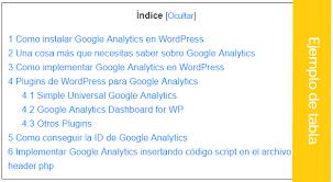 Resultado de imagen para Sitemap o Tabla de contenido