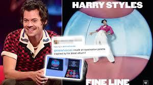 <b>Harry Styles</b> Fan Creates '<b>Fine</b> Line' Inspired Eyeshadow Palette ...