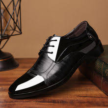 Buy <b>Leather</b> Pointed Lace up Oxford <b>Shoes</b> for <b>Men</b> online - Buy ...
