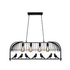 Unitary <b>Brand Vintage</b> Black Metal Bird Cage Design Dining Room ...