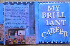 my brilliant career journal alison s art and soul i ve finished my journal about my teaching career i made it from a children s board book which opens out concertina wise and i posted about the first half