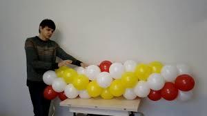 <b>Гирлянда</b> из воздушных шаров сборка - YouTube