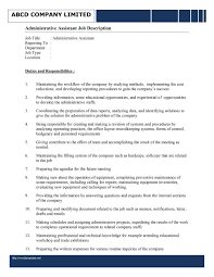 how to write an administrative assistant resume descriptions how to write an administrative assistant resume descriptions sample administrative assistant resume and tips administrative assistant