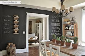 dining room wall decorating ideas: dining room stunning ve wanted to do a chalkboard wall in our home forever but as