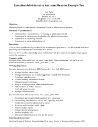 cover letter resume template executive assistant sample resume letter executive assistant objective unforgettable executive professional resumes simple and administrative resume exampleresume template executive