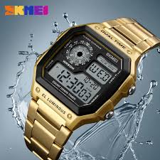 SKMEI <b>Business Men Watches</b> Waterproof Sport Watch Stainless ...