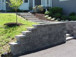 Small Picture Retaining Walls Staircases Carrier Landscape