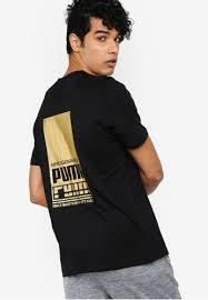 Buy Puma <b>Sportstyle</b> Core PUMA Gold <b>Graphic</b> Online | ZALORA ...