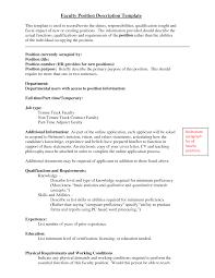 adjunct professor cover letter job and resume template adjunct professor cover letter no experience