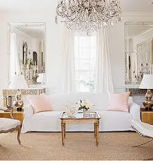 room french style furniture bensof modern: elegant chic french living room love white walls with white furniture and soft pink silk throw pillows silver mirrors above console tables flanking the