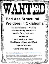 structural welder standby personnelstandby personnel structural welder