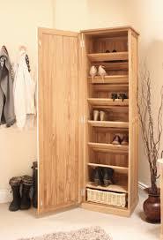 mobel oak shoe cupboard tall mobel solid oak dvd