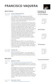 account representative resume samples   visualcv resume samples    account representative resume samples