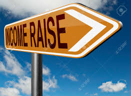 income raise a rise in higher salary pay increase negotiation stock photo income raise a rise in higher salary pay increase negotiation for job promotion