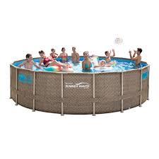 Купить каркасный <b>бассейн</b> 549x132см <b>Summer Waves</b>-Ротанг ...