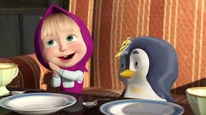 Маша и Медведь - Первые серии Подкидыш Новый друг <b>Пингвин</b>!