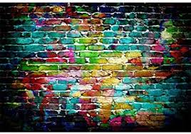 Laeacco 7x5ft Colorful Brick Wall Photography ... - Amazon.com