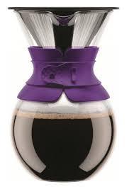 Купить <b>Кофейник</b> с фильтром <b>Pour Over</b>, 0.5 л, фиолетовый ...
