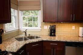 white glass subway tile backsplash kitchen