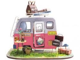 <b>Сборная модель DIY House</b> Домик на колесах DGM04 9-58-010639