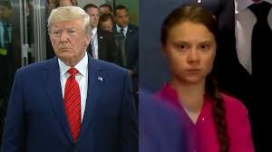 Did President Trump Mock Teen Activist Greta Thunberg? - YouTube