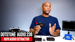 How To Extract <b>Audio</b> Out Of <b>HDMI</b> Cables With A DotStone <b>HDMI</b> ...