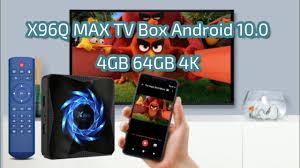 <b>X96Q MAX</b> TV Box Android 10.0 4GB 64GB 4K - YouTube