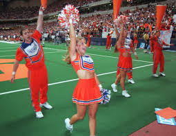george saunders in cheerleaders equal in status to cheerleaders
