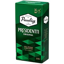 Купить <b>Кофе</b> молотый <b>Paulig Presidentti Original</b> ground 250g в ...