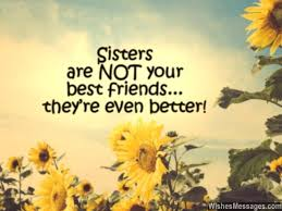 I Love You Messages for Sister: Quotes | WishesMessages.com via Relatably.com