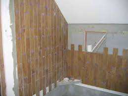 bathroom wood tile flooring