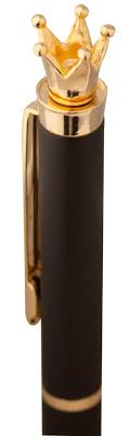 <b>Ручка шариковая Crown Golden</b> Top оптом под логотип