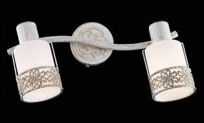 <b>Спот EUROSVET 20025/2 белый</b> с золотом 2*E14*40W купить в ...