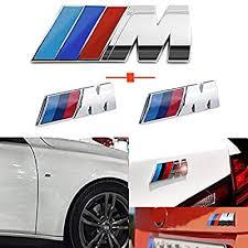 Haocc Loud M Silver 3pcs ABS Plastic Tri Color ... - Amazon.com