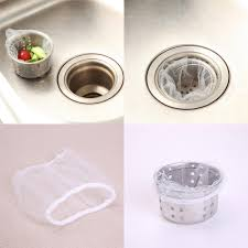 30PCS / <b>100PCS Kitchen Sink</b> Strainer Filter Nets Water Sink ...