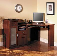 give more space for your home office by using natural brown wooden corner computer desk with drawers buy home office furniture give