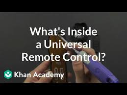 What is inside <b>a</b> universal remote control? (video) | Khan Academy
